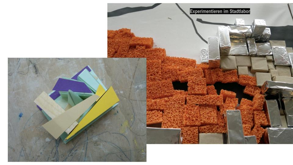 Klasse 10: Stadtplanung – mit vielen Materialien