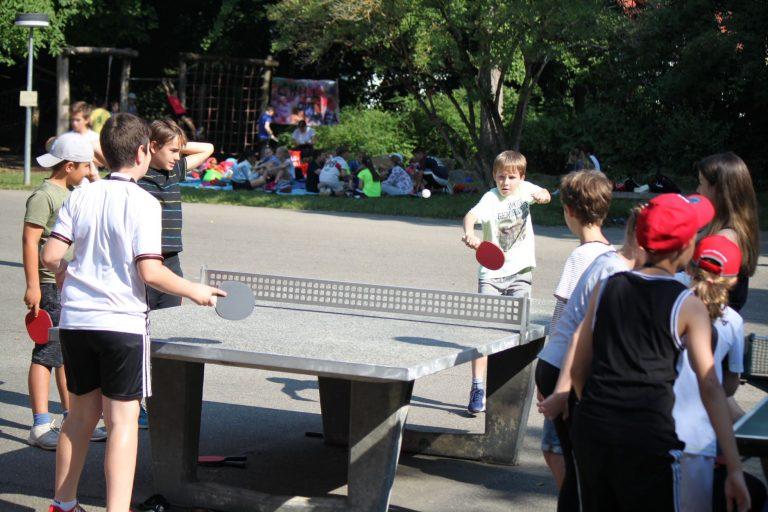Sporttag - Tischtennisturnier